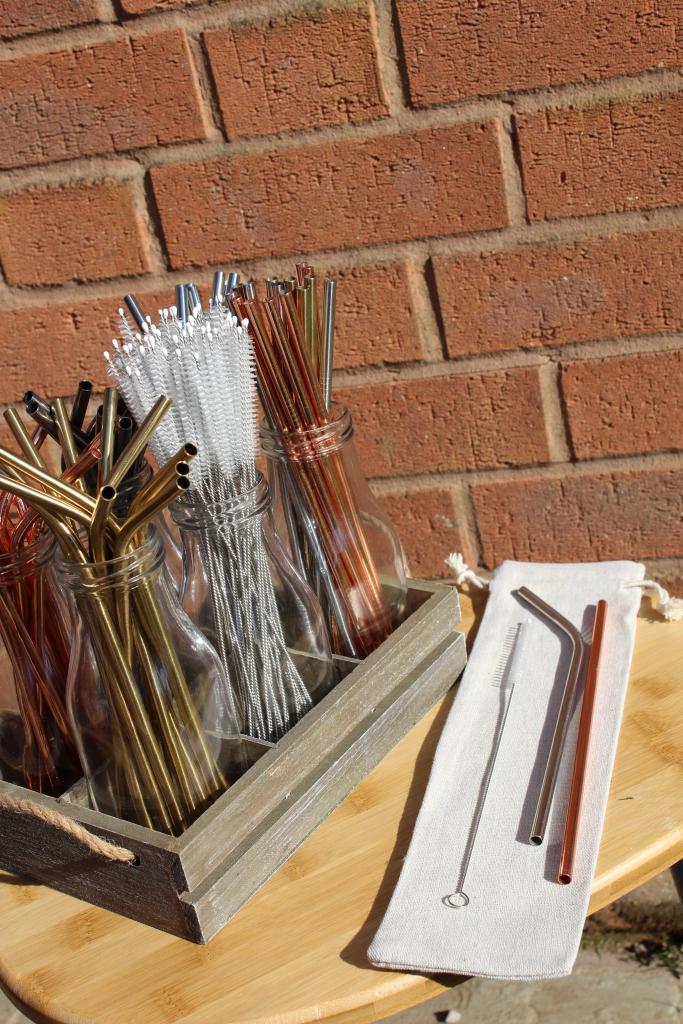 Metal straws